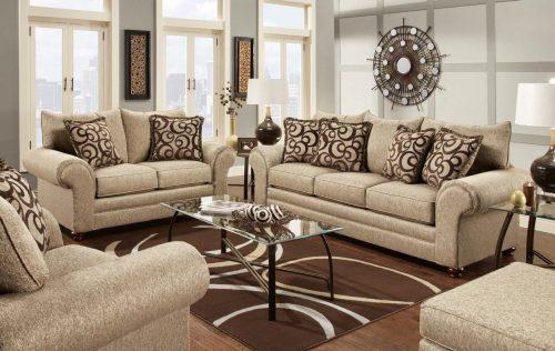 Harga Kursi Sofa Minimalis Murah Sono Jati Furniture