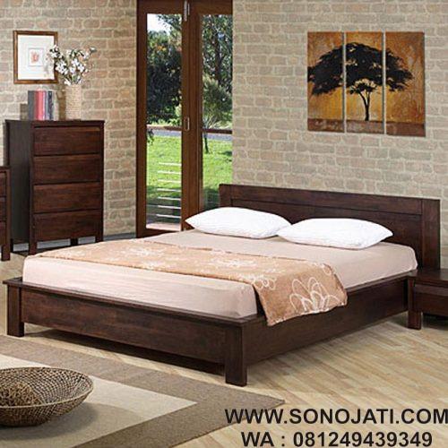 Model Tempat Tidur Kayu