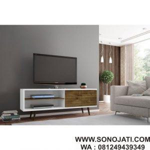 Bufet TV Minimalis Ruang Keluarga