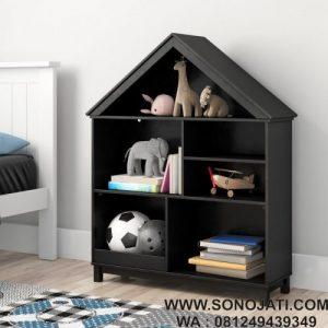 Rak Buku Simple Minimalis Rumah