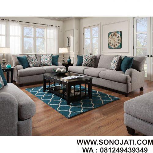 Set Kursi Sofa Tamu Minimalis Rosalie Murah