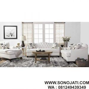 Set Sofa Ruang Tamu Minimalis Meade Murah