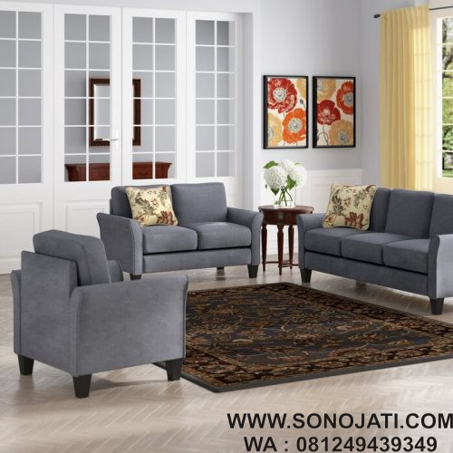 Kursi Tamu Sofa Goldnila 3 Piece