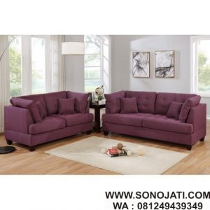 Set Sofa Tamu Minimalis Tarakan 2 Piece