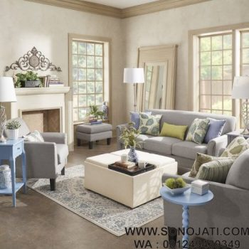 Set Sofa Tamu Minimalis Configurable Living room