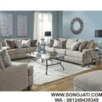 Set Sofa Jati Minimalis Bulloch Modern