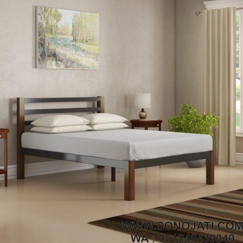 Tempat Tidur Minimalis Elegan Odesus
