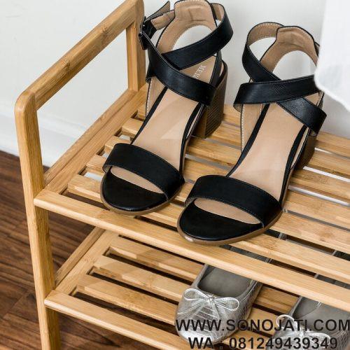 Rak Sepatu 2 Tingkat Tier 7 Ruas