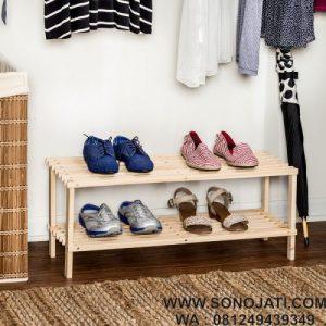 Rak Sepatu Murah Minimalis 8 Pair