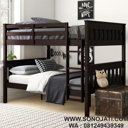 Tempat Tidur Anak Tingkat Minimalis Almeda Cheatham