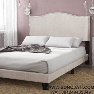 Tempat Tidur Minimalis White Karina