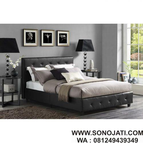 Tempat Tidur Minimalis Modern Salina