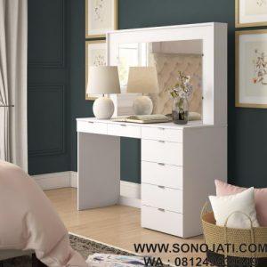 Meja Rias Minimalis Spurlin Dressing Vanity
