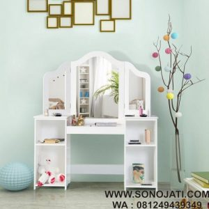 Meja Rias Minimalis Kids Vanity Table