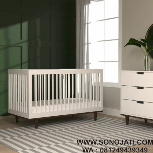 Tempat Tidur Bayi Minimalis Marley