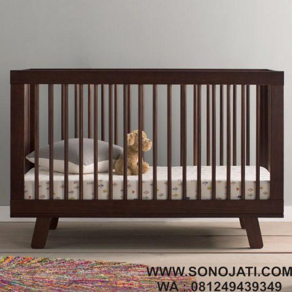Tempat Tidur Bayi Minimalis Hudson