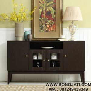 Bufet Minimalis Solid Console