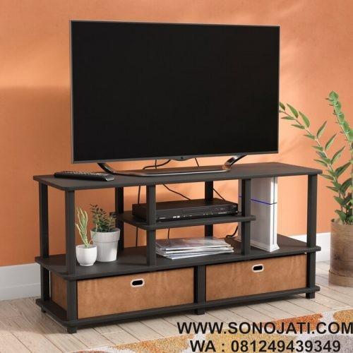 Model Lemari TV Minimalis Lansing TV Stand