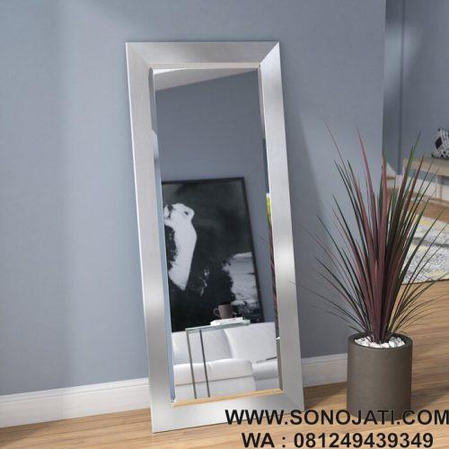 Cermin Dinding Minimalis Kontemporer Beveled