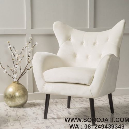 Kursi Sofa Wingback Chair