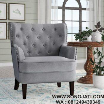 Sofa Minimalis Ivo Wingback