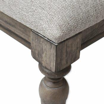 Bangku Rias Minimalis Adalric Solid Wood