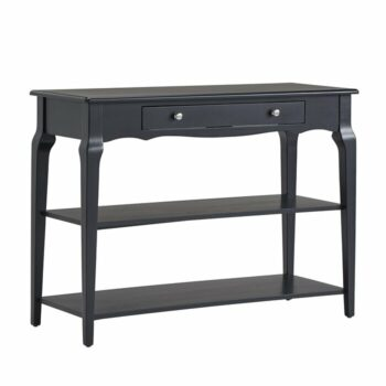 Console Table Hitam Shawnee
