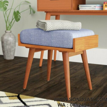 Kursi Rias Minimalis Modern Emily Solid Wood