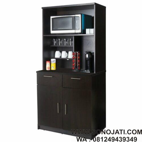 Lemari Dapur Minimalis Coffee Kitchen Sono Jati Furniture