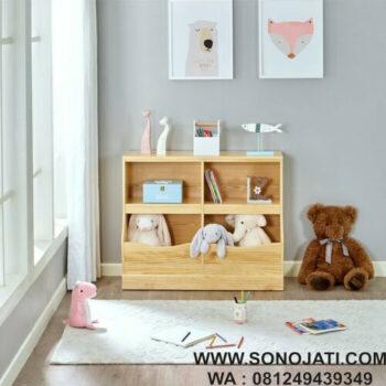 Lemari Mainan Anak Minimalis Antony Toy