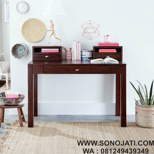 Meja Belajar Natural Erskine Writing Desk