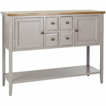 Meja Konsol Modern Putih Sadie
