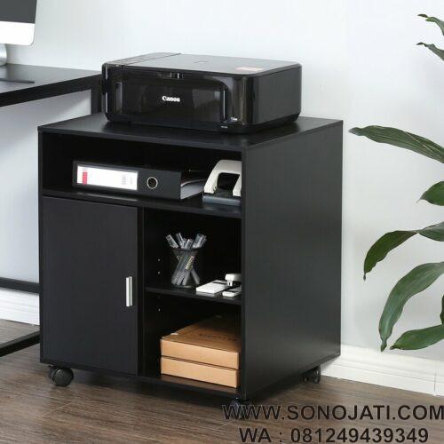 Meja Printer Minimalis Printer Stand