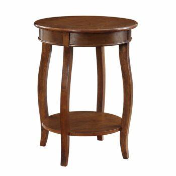 Nakas Antik Natural Callan End Table