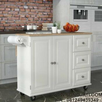 Rak Dapur Putih Elegan Kuhnhenn Kitchen