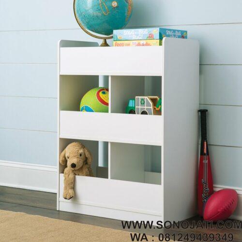 Rak Tempat Mainan Anak KidSpace Vertical
