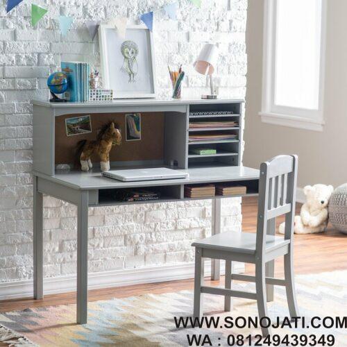 Meja Belajar Murah Glaser Kids Writing Desk