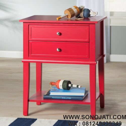 Nakas Minimalis Dmitry 2 Drawer