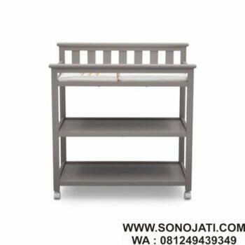 Rak Popok Bayi Flat Top Changing Table
