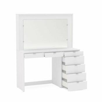 Tolet Minimalis Putih Spurlin Dressing