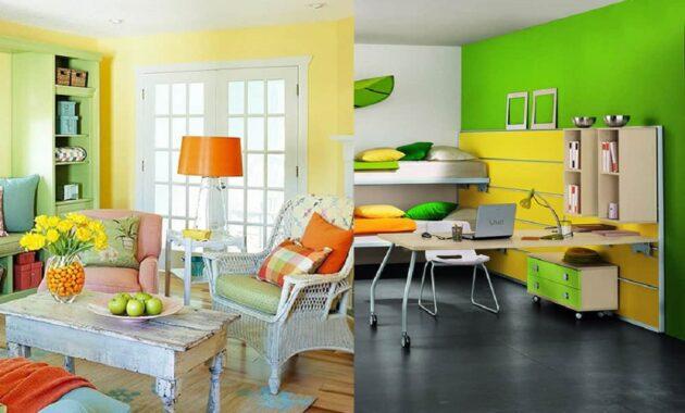 Tips Memilih Warna Cat Interior Rumah Berbagai Kombinasi Menarik
